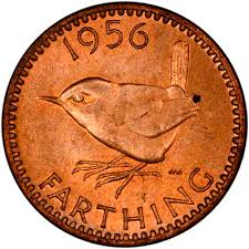 Picture of a farthing coin