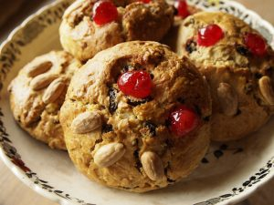 Picture of tasty Fat Rascal scones